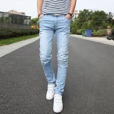 mens light blue jeans skinny light blue jeans men