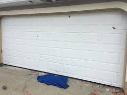 how to paint a metal garage door home