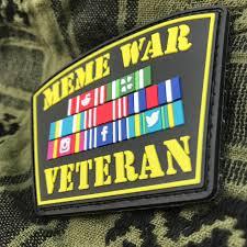 Meme War Pictures - meme war veteran pvc patch tacticool imaging online store