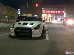 nissan gtr liberty walk liberty walk gt r looking totally not inconspicuous in canadian