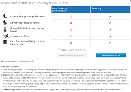 United Domestic Checked Bag Ouch United Expands Basic Economy To Virtually All Domestic