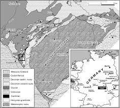 Southern Germany Map by Geochronology Of The Cambrian A Precise Middle Cambrian U U2013pb
