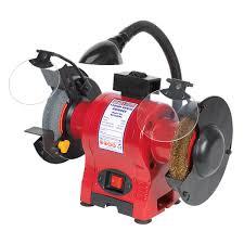 sealey bg150xwl bench grinder 150mm u0026 wire wheel combination with