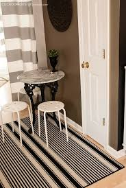 Black White Striped Rug 18 Black And White Striped Rug From Ross I Like The Curtains In