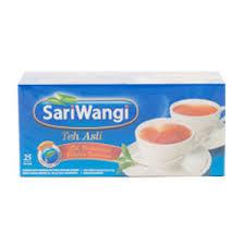 Teh Sariwangi 1 Karton jual teh celup sariwangi teh asli isi 25 tea bag promo