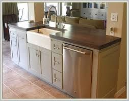 sink island kitchen kitchen island with sink and dishwasher home