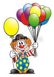 clown balloon clown clipart balloon pencil and in color clown clipart