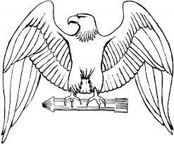 Coloriage Aigle royal dessin gratuit à imprimer