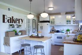 Schoolhouse Lights Kitchen Kitchen Room Design Good Looking Monte Carlo Ceiling Fans In