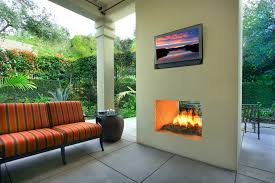 Modern Outdoor Gas Fireplace by Double Sided Gas With Fireplace Patio Modern And Modern Outdoor