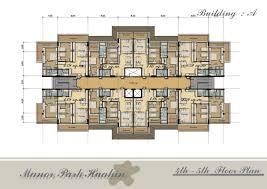 Building Floors Building Plans line