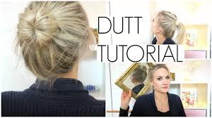 Frisuren Mittellange Haare Dutt by Voluminöser Dutt Bei Dünnen Und Feinen Haaren