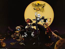 hd halloween background images nightmare before christmas hd wallpaper wallpapersafari