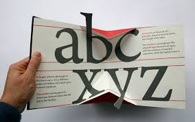 3d designer an impressive 3d movable book about type designer daily graphic