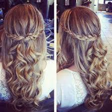 Hochsteckfrisuren Locken Selber Machen by Tanz Abschlussball Frisur Hair