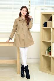 Trendy Plus Size Maternity Clothes New Autumn Single Breasted Pregnant Trench Coat Causal Turn Down