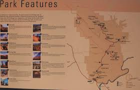 Utah Parks Map by The Features Of Arches National Park Map High Quality Maps Of