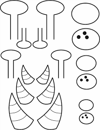 template for kids plate monster crafts pinterest image search and