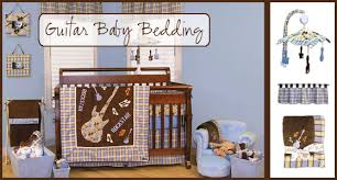 Rock N Roll Crib Bedding Rock And Roll Baby Boy Nursery Themes Labels Guitar Baby