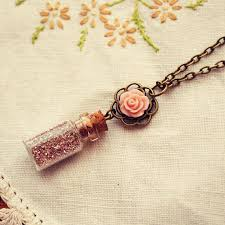 glass bottle necklace pendants images 250 best mini bouteilles images bottle necklace jpg