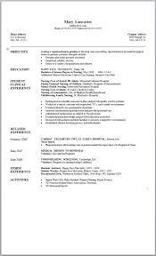 nursing objectives for resume certified nursing assistant resume