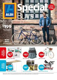 aldi catalogue special buys week 34 retro bikes clothing and more