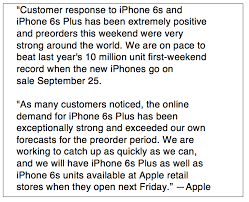 will iphones be on sale for black friday not all analysts cheered apple u0027s statement on iphone 6s sales