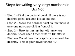 working with scientific notation scientific notation scientific notation is sometimes called