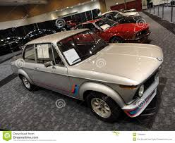 Old Classic Cars - old bmw and other classic cars displayed editorial photo