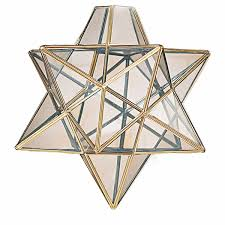 Brass Ceiling Light Fittings by Star Glass Pendant Light Brass