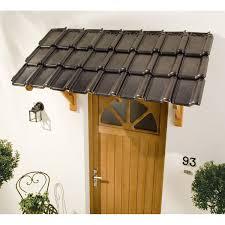 auvent en bois pour terrasse auvent en kit l 139 x p 45 x h 84 cm leroy merlin