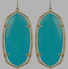 turquoise drop earrings bellino s turquoise drop earrings with lydia big hair