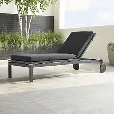 outdoor chaise lounge cushions crate and barrel