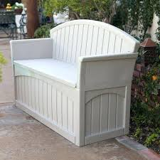Keter Bench Storage Plastic Garden Bench With Storage Plastic Garden Bench Box With