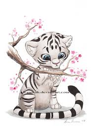 snow tiger coloring page white tiger by kamirah on deviantart