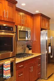 Natural Cherry Kitchen Cabinets by Kitchen Cabinets Shaker Cherry Kitchen