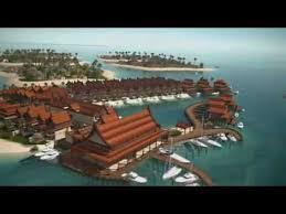 world map city in dubai the world dubai