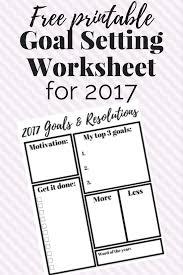 2017 goals resolutions printable love u0026 renovations