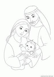 angel and mary coloring page 578164