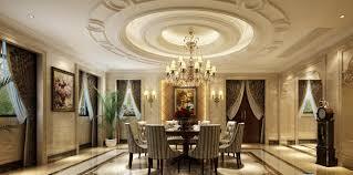 european style restaurant circular ceiling decoration interior