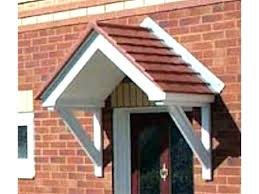 Door Awning Kits Front Door Awnings Wood House Awnings Canopies Canopy And Front