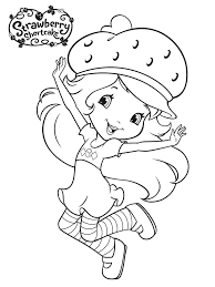 coloring pages of strawberry shortcake 28 images printable