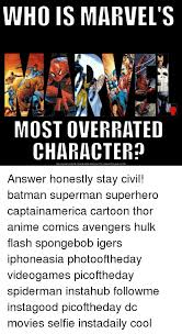 Batman Meme Generator - who is marvel s most overrated character download meme generator