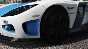 koenigsegg crash koenigsegg ccx pursuit police add on replace template
