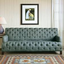 Linen Chesterfield Sofa by Tufted Linen Sofa Hmmi Us