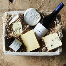 Wine And Cheese Gifts Cheese U0026 Wine Hamper A Luxurious Artisan Cheese U0026 Wine Hamper