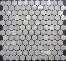 White Hexagon Tile Backsplash Online White Hexagon Tile - Hexagon tile backsplash