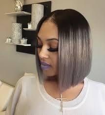 bob hairstyle with part down the middle black hairstyles part down the middle black hairstyles black