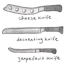 different kitchen knives different types of knives an illustrated guide knives foods and