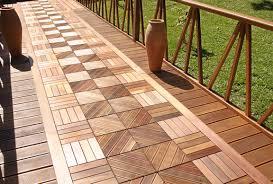 patio u0026 outdoor best vifah composite teak interlocking deck tiles